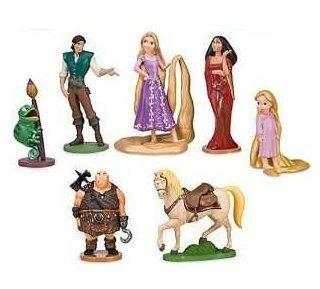 figurine raiponce disney