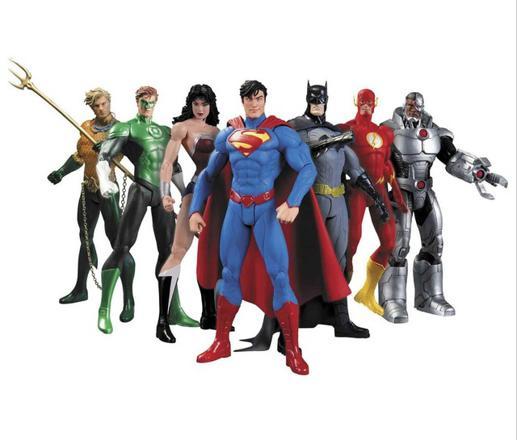 figurine super heros