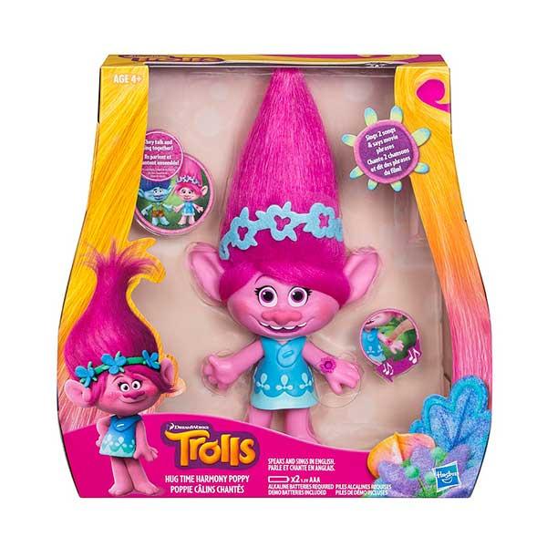 figurine trolls poppy 22 cm