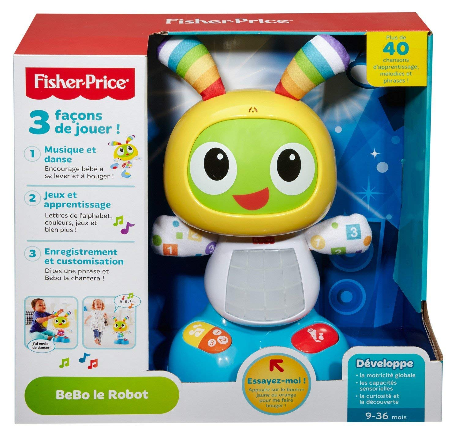 fisher price bebo le robot