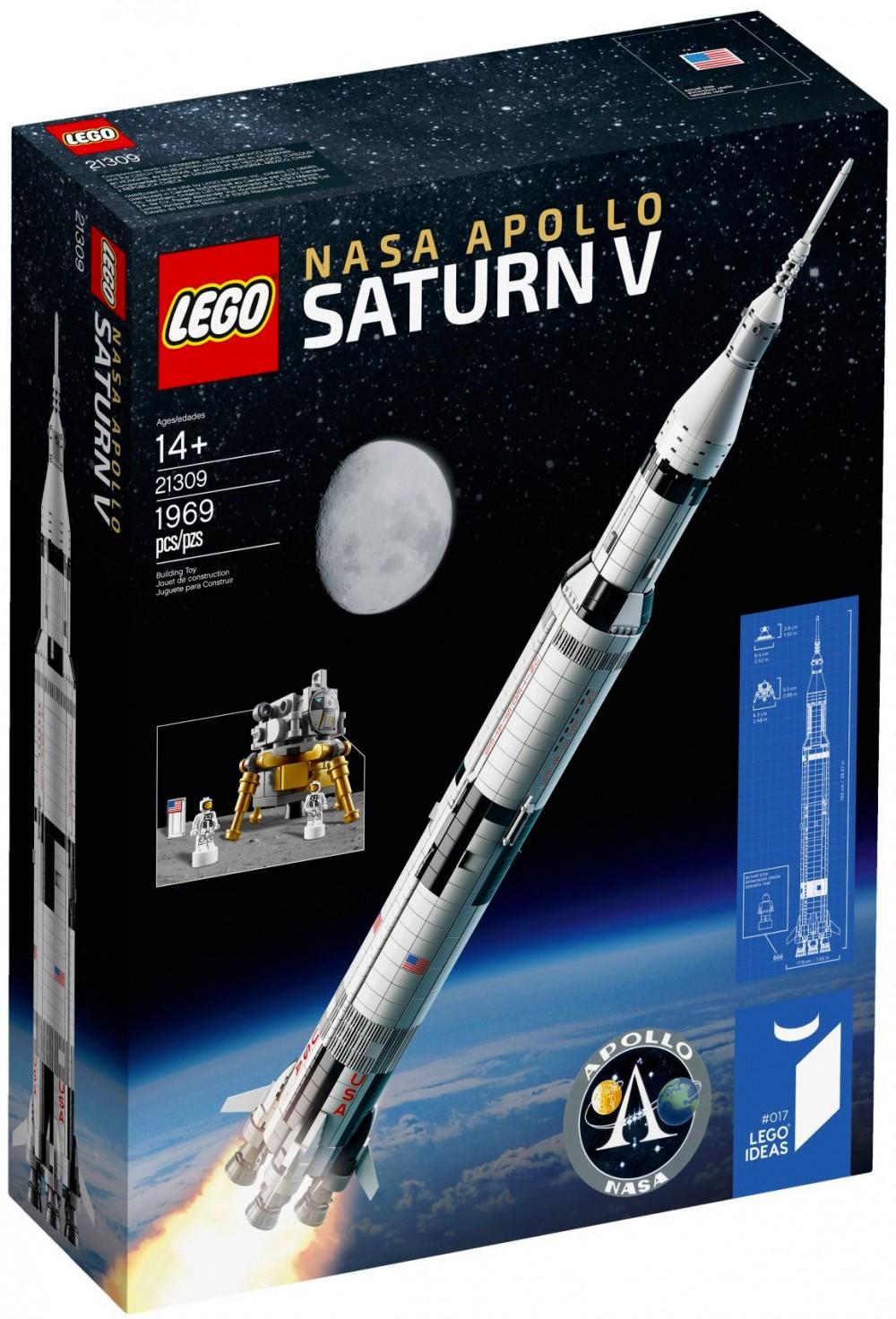 fusée lego apollo