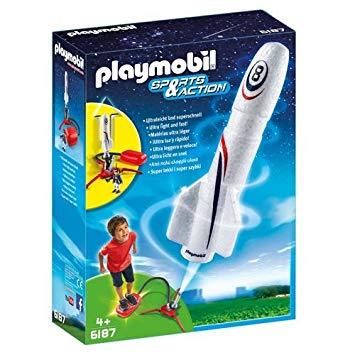 fusée playmobil 6187