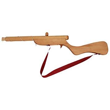 fusil en bois jouet