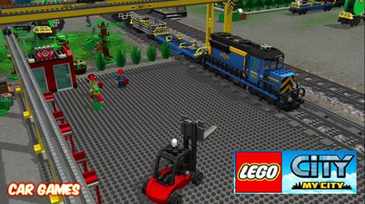 game lego train
