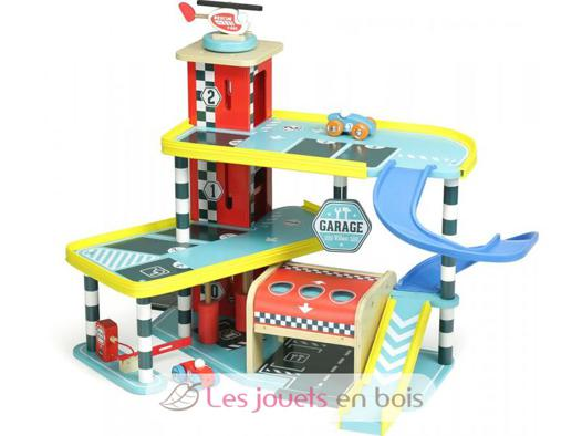 garage en bois enfant
