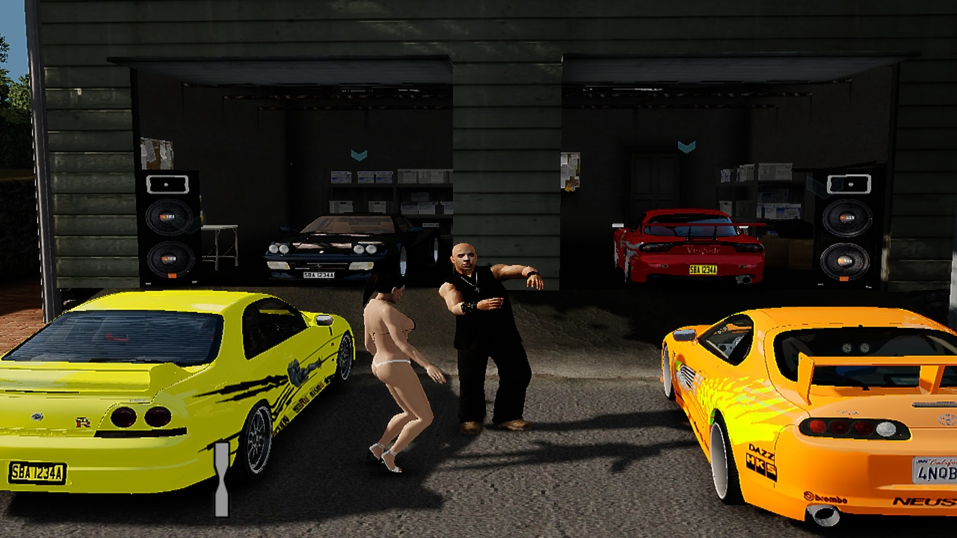 garage fast and furious
