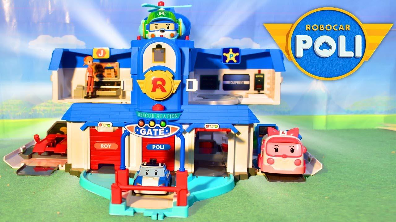 garage robocar poli
