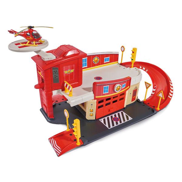 garage sam le pompier