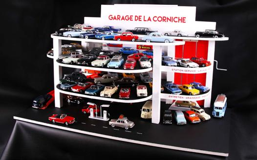 garage voiture miniature