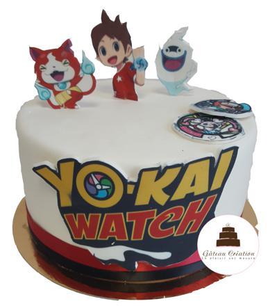 gateau anniversaire yokai watch