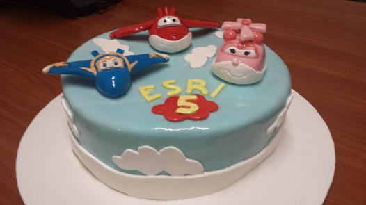 gateau super wings