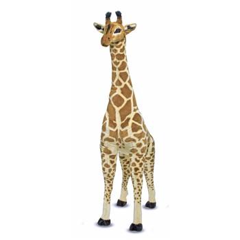 girafe en peluche geante