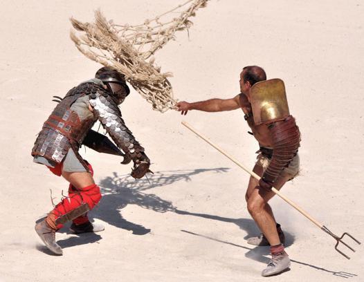 gladiateur au filet
