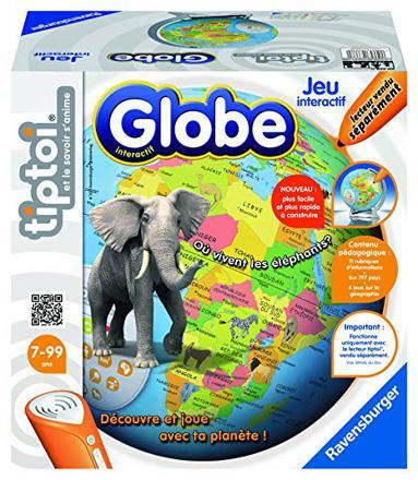 globe interactif tiptoi