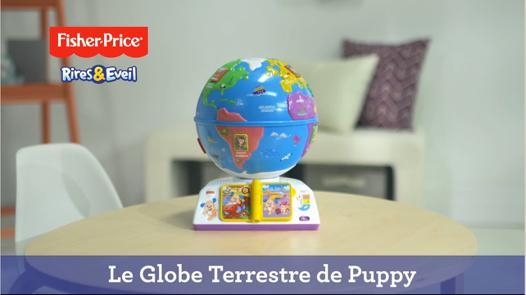 globe terrestre puppy