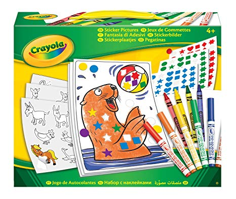 gommettes crayola