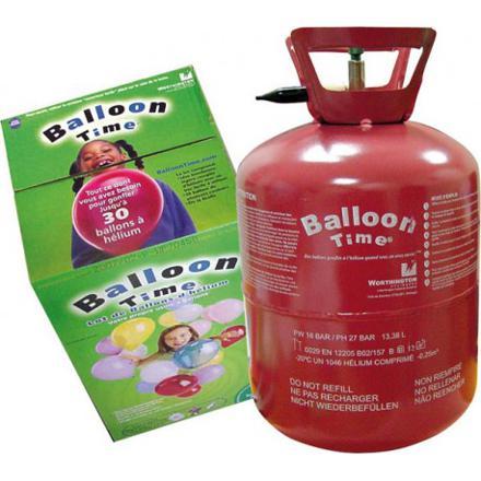 gonflage helium