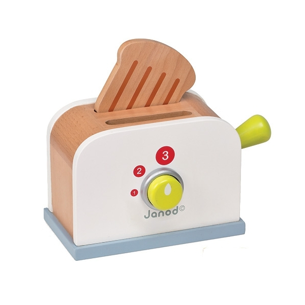grille pain en bois jouet
