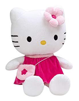 grosse peluche hello kitty