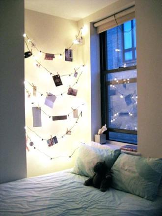 guirlande lumineuse chambre boule