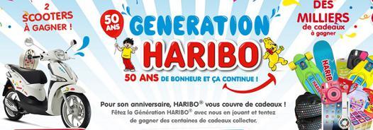 haribo jeu 50 ans