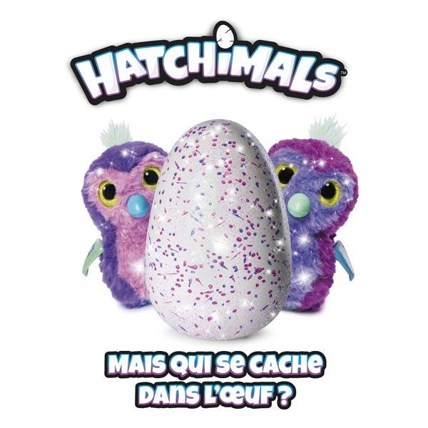 hatchimals penguala pailleté