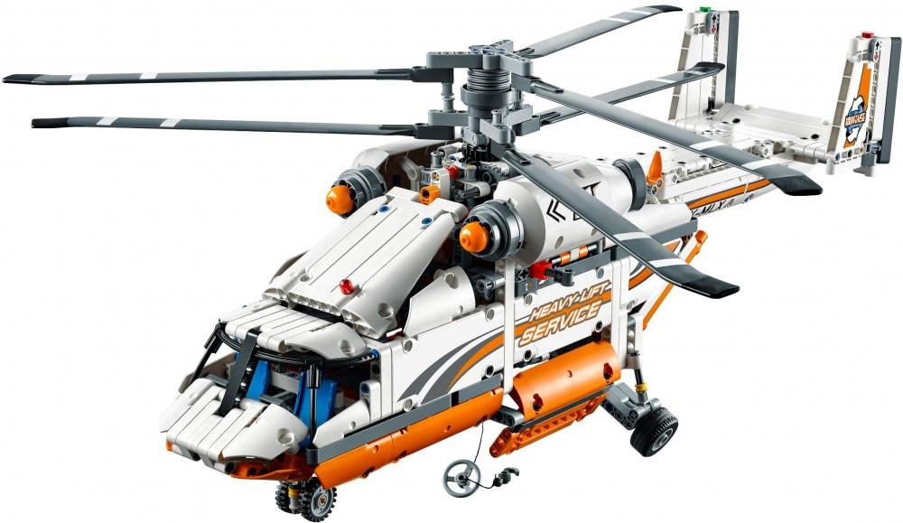 hélicoptère en lego