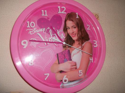 horloge violetta