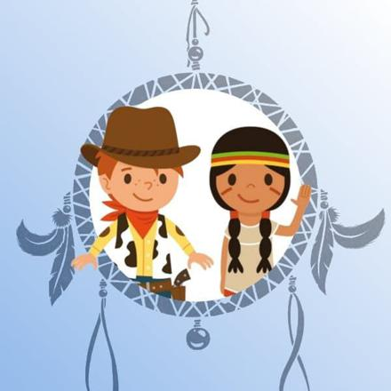 indien et cowboy