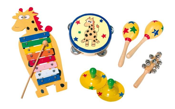 instruments de musique en bois pour bebe