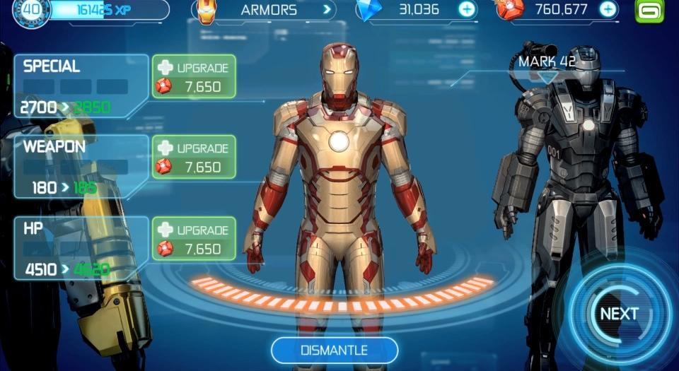 iron man 3 jeux