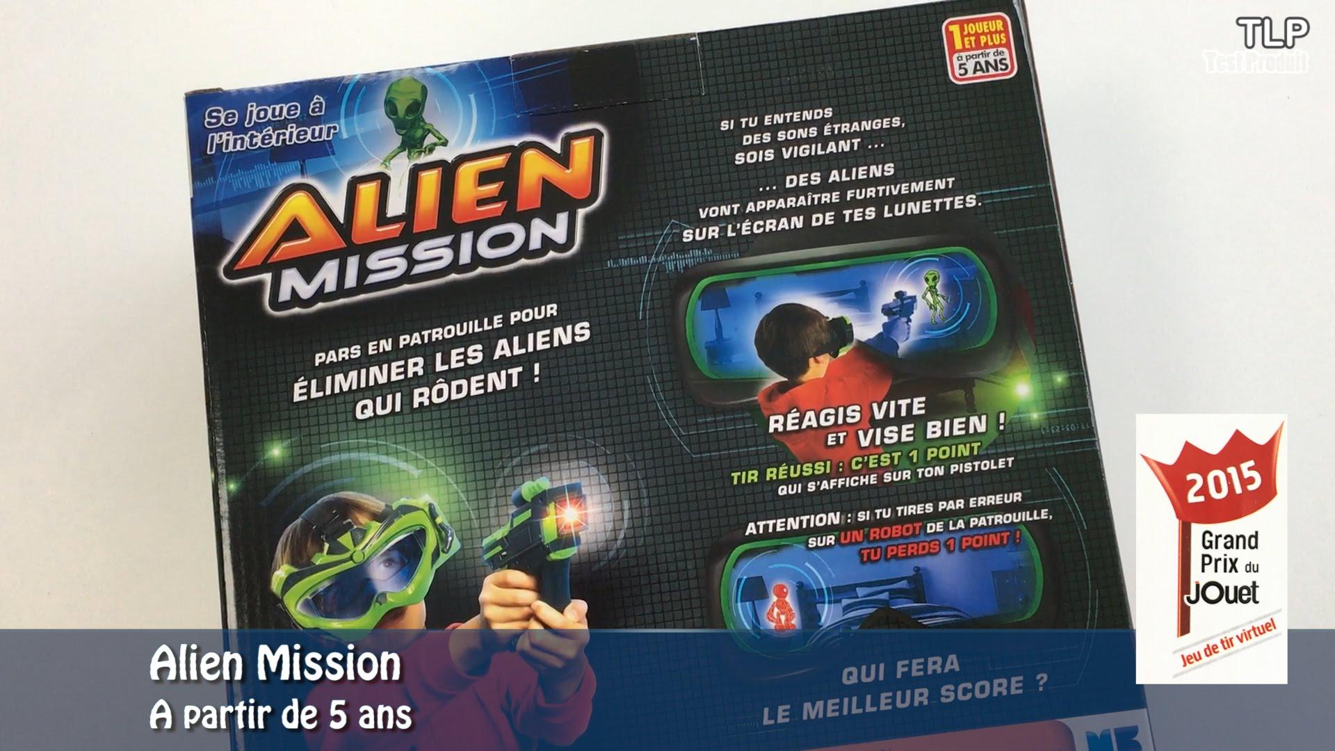 jeu alien mission