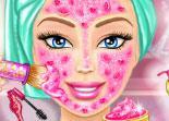 jeu barbie vrai maquillage