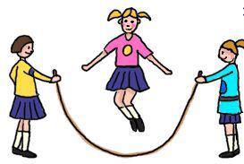 jeu corde à sauter