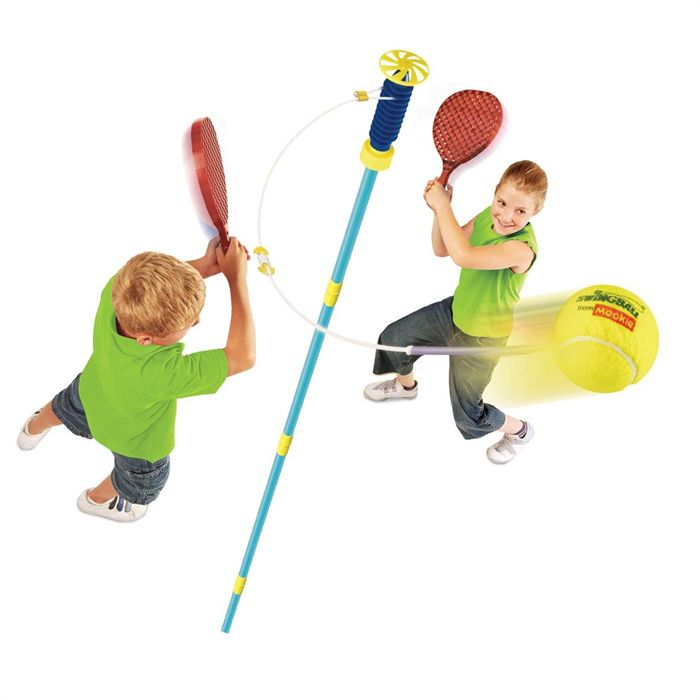 jeu de balle avec raquette