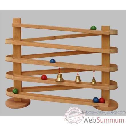 jeu de bille en bois