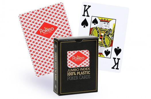 jeu de carte plastique poker