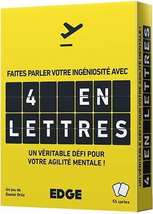 jeu de cartes en 4 lettres