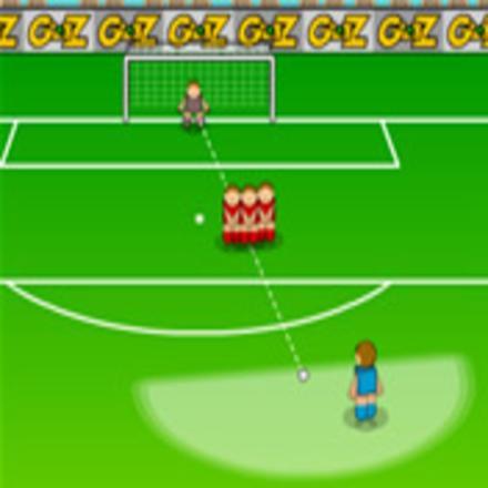 jeu de foot coup franc