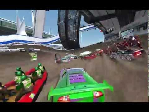 jeu de voiture de course sur circuit
