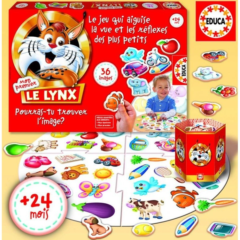 jeu lynx junior