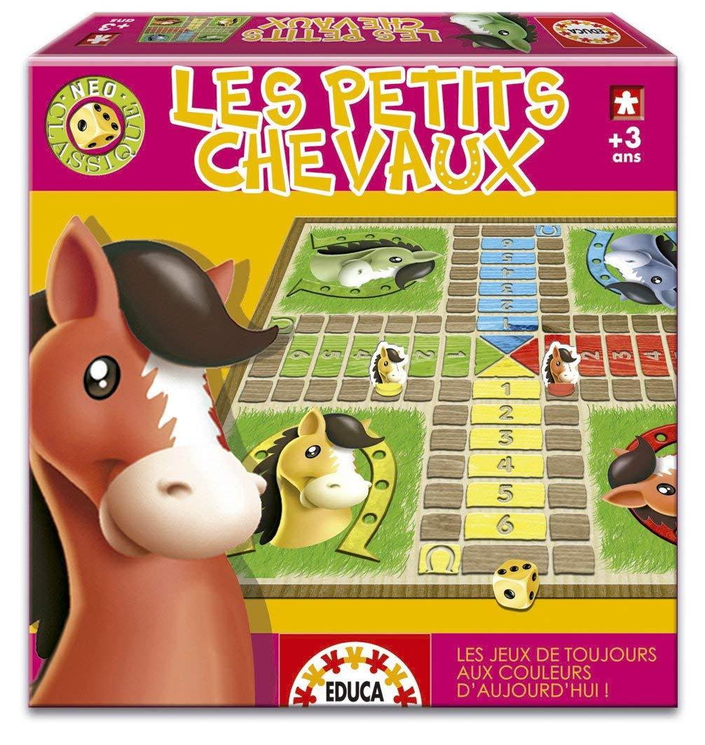 jeu petit chevaux