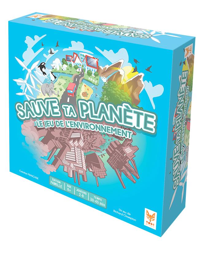 jeu sauve ta planète