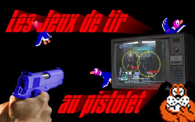jeu tir au pistolet