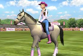 jeux avec chevaux