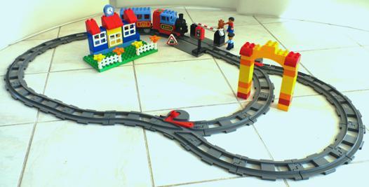 jeux avec des trains