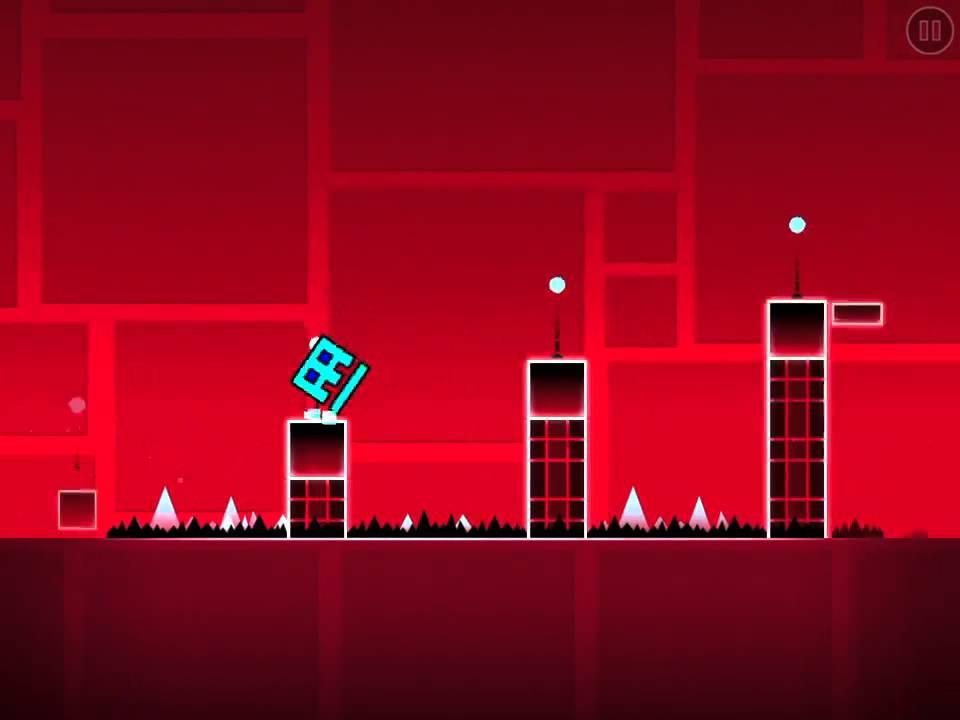 jeux avec un cube qui saute