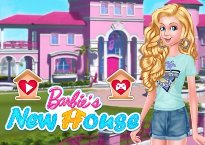 jeux barbie decoration maison