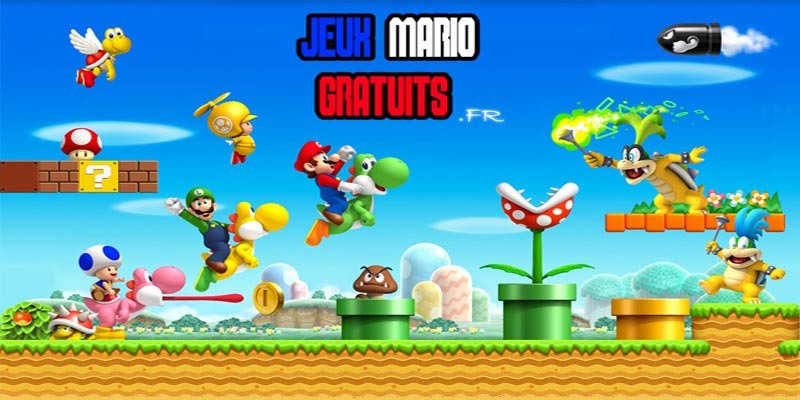 jeux be mario
