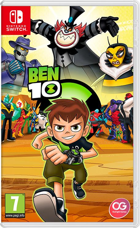 jeux ben 10 info